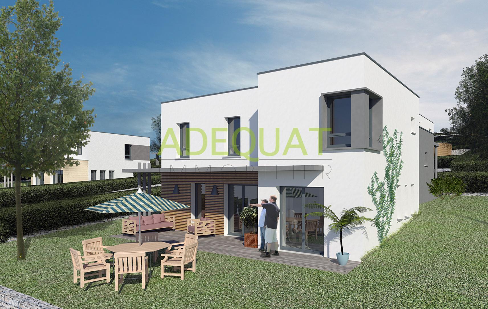 offres programmes neufs villa moderne en duplex avec garage et grand jardin
