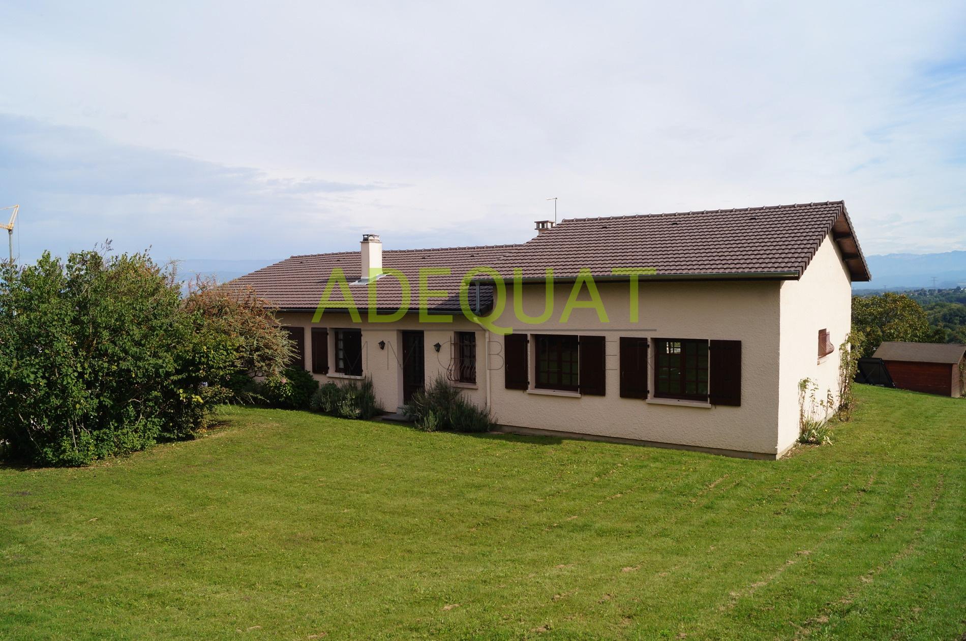 Vente maison avec vue exceptionnelle et grand terrain for Maison container terrain non constructible
