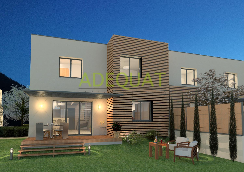 L 39 immobilier cessieu bourgoin jallieu et environs for Maison duplex moderne